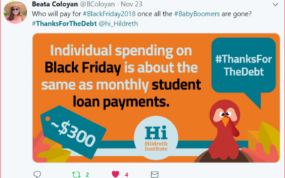 #ThanksForTheDebt