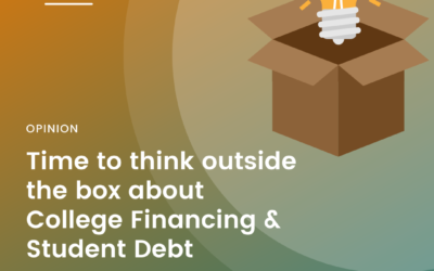 Bob Hildreth in The Hill on Student Debt
